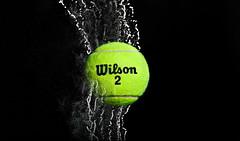 Mock Product Shot (_ShelbyCipolla) Tags: powder tennis wilson tennisball product highspeed highspeedphotography productphotography