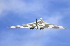 Vulcan (Bernie Condon) Tags: plane vintage flying aircraft aviation military airshow planes duxford vulcan bomber raf avro xh558