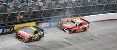 Nascar at Bristol (REBynum) Tags: car race bristol crash nascar
