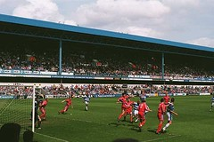 QPR v Crystal Palace, 09 May 1999 (Paul-M-Wright) Tags: road park uk england london football crystal may palace 1999 queens 09 match fans rangers nineties 1990s 90s supporters qpr loftus cpfc