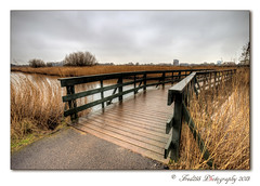 Bridging the gap (Fred255 Photography) Tags: uk england london nature water landscape landscapes fred l usm barnes hdr 1740 gp manfrotto eos1ds markiii llens greatphotographers ef1740mmf4lusm ef1740mm abigfave 1dsmk3 canoneos1dsmarkiii naturethroughthelens wwtlondonwetlandcentre fred255 greaterphotographers vigilantphotographersunite vpu2 vpu3 vpu4 vpu5 vpu6