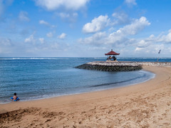 _0033521 (Two people two cameras) Tags: indonesia bali asia travel photography photo nature sanur beach sand sea seaside water sky blue clouds wallpaper beautiful summer nopeople ricoh