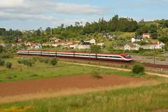 AP 186 - Pombal (valeriodossantos) Tags: comboio cp train passageiros cpa4000 comboiodependulaoativa automotoraeltrica alfapendular rpido cplongocurso pombal linhadonorte caminhosdeferro portugal