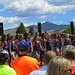 <b>Norbie20</b><br /> A choir from the Missoula International Choral Festival performs at the ribbon-cutting ceremony.