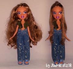 Bratz Girlz Nite Out Yasmin Restyle (JadeBratz18) Tags: bratz passion4fashion passion fashion fashiondoll doll dolls girlz girls nite out yasmin