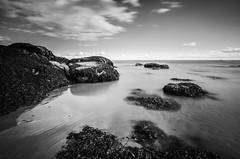 Fife LE (3 of 10) (Muse2k8) Tags: fife scotland long exposure coast coastal sea beach black white zig zag st monans