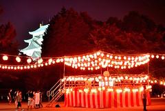 Nagoya Castle, Nagoya, Japan (HowiePoon) Tags: nagoya japan castle nagoyacastle obon festival odori matsuri