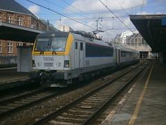 1896 @ Bruxelles Chapelle (ianjpoole) Tags: nmbs sncb class 18 1896 working train ic8902 schaarbeek kortrijk