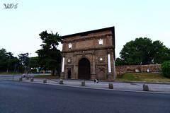 Porta Savonarola, dall'interno delle Mura, Padova (Davide Anselmi) Tags: porta portasavonarola savonarola padova monumento mura davideanselmi 2016 italia