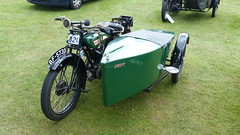 1927 BSA L27 500cc With Swift Sidecar Reg: BF 5730 (bertie's world) Tags: motorcycle lincolnshire steam rally 2016 bsa combination lincoln showground 1927 l27 500cc swift sidecar reg bf5730