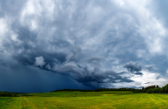 Gewitterzelle (S.T.A.R.S) Tags: gewitter himmel wolken sturm zelle regen blitz donner unwetter superzelle orkan wiese weite wald wetter natur gewalt umwelt katastrophe