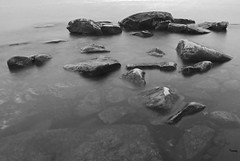 Formation (STTH64) Tags: fboda rocks sea seaside ndfilter water wet bw finland