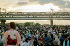 (benson-ho) Tags: summer train festival fireworks