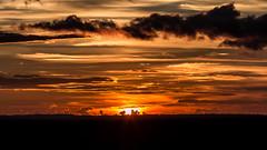 Shades of orange (Piotr_PopUp) Tags: summer sunset sun sky cloud clouds golden hour goldenhour sol minimal landscape poland polska