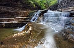 Water Falls - Treman_0075 (sugarzebra) Tags: treman roberthtreman statepark ny newyork ithaca waterfalls longexposure fingerlakes canon