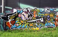 Bebar (HBA_JIJO) Tags: streetart urban graffiti vitry vitrysurseine art france hbajijo wall mur painting skull peinture murale paris94 spray bombeaerosol cigarette
