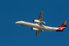 20160819_3172_7D2-200 QANTAS Link Dash8 Q400 VH-LQL with QLK485 BNE to Moranbah (MOV) (johnstewartnz) Tags: 7d mark ii brisbane international airport 7d2 apsc australia bne canon eos mov qantas qantaslink qlk485 vhlql ybbn aircraft plane planes dash8 7dmarkii brisbaneinternationalairport q400 100canon unlimitedphotos yabbadabadoo yabbadabbadoo flyingkangaroo kangaroo