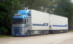 Nordberghs Volvo roadtrain MAZ848 Sweden (sms88aec) Tags: nordberghs volvo roadtrain maz848 sweden