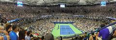 US-Open-2016-9 (fabergtourexperience) Tags: usopen tennis new york usa arthur ashe stadium stanislaswawrinka stan wawrinka novakdjokovic djokovic experience sporting events sunset sunny day