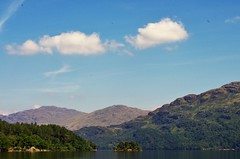 Loch Lomond View 1 (brightondj - getting the most from a cheap compact) Tags: lochlomond scotland ferry water loch scotlandaugust2016 sky cloud trossachs thetrossachs