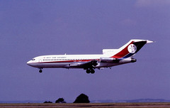 G-BCDA B727 Dan Air EMA 01-08-90 (cvtperson) Tags: gbcda boeing 727 dan air east midlands ema egnx