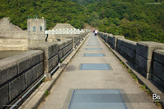 Dam :: Shing Mun Reservoir (), Hong Kong (hk_bellchan) Tags: bridge trees sunset hk moon landscape monkey steel jubilee reservoir hong kong wan    shing afterglow  mun paperbark melaleuca       tsuen bellmouth shingmoon