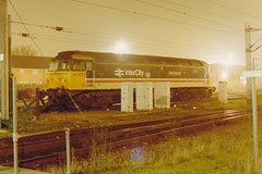 47471 (marcus.45111) Tags: cambridge night 1995 intercity class47 47471 stabled normantunna