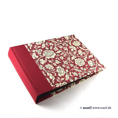 Photo Album Renaissance Flower red (nauli.nauli) Tags: flowers floral handmade photobook blumen bookbinding photoalbum weddingalbum handgemacht fotoalbum madeingermany nauli reanissance handgebunden geblmt hochzeitsalbum handmadeingermany