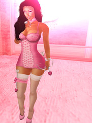 Princess Cupid (CaramelB0mbshell) Tags: pink fashion shopping truth day princess couples curvy sl caramel secondlife vday valentines fa pixelgirl playmate ncore candygirl spoiledbrat fantasygirl truthhawks caramelbombshell caramelbombshellmia
