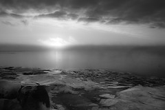 IMG_0437.jpg (Call_Me_Josh) Tags: winter bw ice minnesota clouds sunrise northshore lakesuperior castledanger