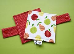 Porta-copos (Meia Tigela flickr) Tags: handmade artesanato artesanal craft fruta decoração jogo mesa americano tecido estampado jogoamericano feitoamão