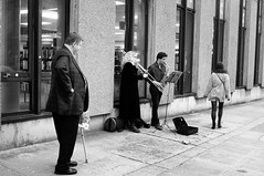 Letching To Music (Nick Lambert!) Tags: street blackandwhite bw scotland fuji glasgow streetscape byresroad nicklambert fujix100 fujinonasphericallens letchingtomusic