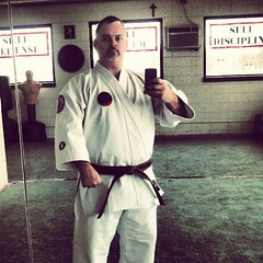 Feel so much better in this new gi (MikeOliveri) Tags: square uniform martialarts karate squareformat brannan gi oliveri tokaido arashi shuriryu academyofokinawankarate kotoshi iphoneography instagramapp uploaded:by=instagram