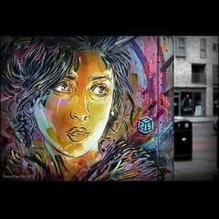 Some #C215 painting and stencil goodness from #london. #streetart #stencil #graffiti #wallkandy #painting #art #fb #f #t @christianguemy (Photos  Ian Cox - Wallkandy.net) Tags: street streetart london art canon ian photography graffiti stencil gallery document cox 2013 c215 wallkandy