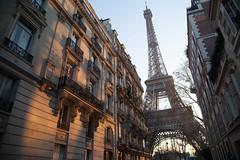19012013-paris 19-02-2013 061 (Guillaume F.) Tags: winter sun paris tower soleil haussmann eiffel dreamlikephotos