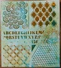 monoprint 1 bis (Chantal 61) Tags: stencils monoprint gélatine peintureacrylique balzerdesign distressbrokenchina