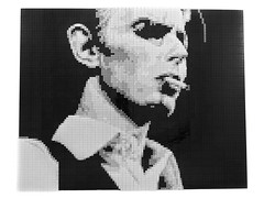 David Bowie as The Thin White Duke (getdamonkey_) Tags: bowie lego mosaic davidbowie thinwhiteduke legomosaics