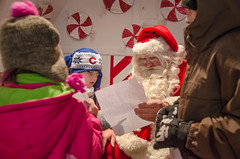 Visit with Santa in Van Buer Plaza - DeKalb, IL