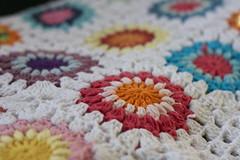 Sunburst blanket (Veracrochet) Tags: crochet blanket sunburst grannycircle
