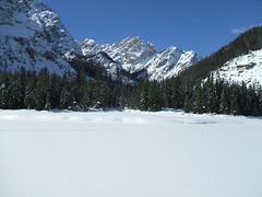 DSCF1860 (margiux) Tags: parco lago hill dal un cielo di inverno alto braies bolzano terence passo adige naturale fanes ghiacciato lagodibraiesbz