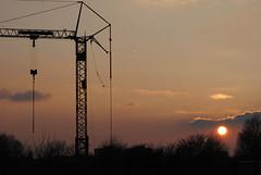 (kaktus83) Tags: berlin sonnenuntergang ostkreuz krahn