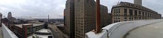 Cleveland, Ohio Panorama (Erik Daniel Drost) Tags: ohio irish st day 5 cleveland casino arena horseshoe patricks stpatricks stpatricksday theq iphone loans quicken
