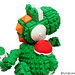 "LEGO Yoshi • <a style=""font-size:0.8em;"" href=""http://www.flickr.com/photos/44124306864@N01/8568326417/"" target=""_blank"">View on Flickr</a>"