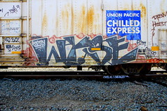 Wyse D30 (Hunter Photography !) Tags: train graffiti d30 freight dirty30 wyse hunterphotography benching