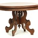 80. Victorian Walnut Coffee Table