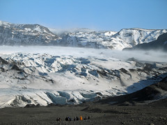 Iceland (warth man) Tags: winter cold ice landscape iceland windy glacier icy volcanic canona620 terminalmoraine windyspot