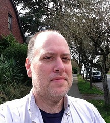 Day 442 - Day 76: Sunday afternoon in Wallingford (knoopie) Tags: seattle selfportrait me march doug year2 wallingford day76 picturemail iphone knoop day442 365days 2013 knoopie 365more 365daysyear2 north40thstreet