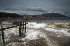 "Rollers in Storm on Loch Maree • <a style=""font-size:0.8em;"" href=""https://www.flickr.com/photos/21540187@N07/8590478958/"" target=""_blank"">View on Flickr</a>"