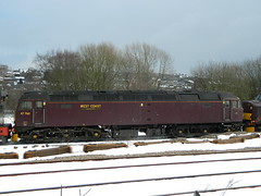 47760 1Z99 stabled in Buxton URS 27/03/2013 (37686) Tags: buxton urs stabled 47760 1z99 27032013