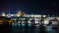 Prague By Night (Martin Osiadly) Tags: bridge light color colour reflection castle water night reflections mos river photography nikon wasser long exposure republic fotografie martin czech prague time nacht hauptstadt prag praha tschechien republik capitol e 24 nikkor brcke schloss fluss 70 reflexion beleuchtung carls reflexionen d800 fliessend republika karls longtimeexposure ceska 2470 karlsbrcke carlsbridge langzeibelichtung lzb fliesend osiadly d800e teschische